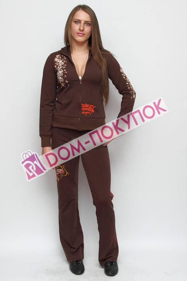 Женский спортивный костюм с принтом доставка
