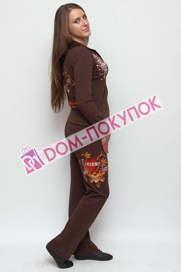 Женские костюмы с принтом доставка