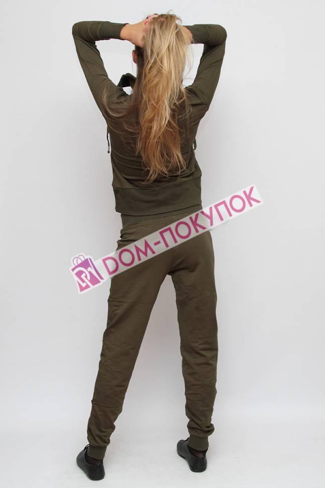 Трикотажный спортивный костюм женский купить