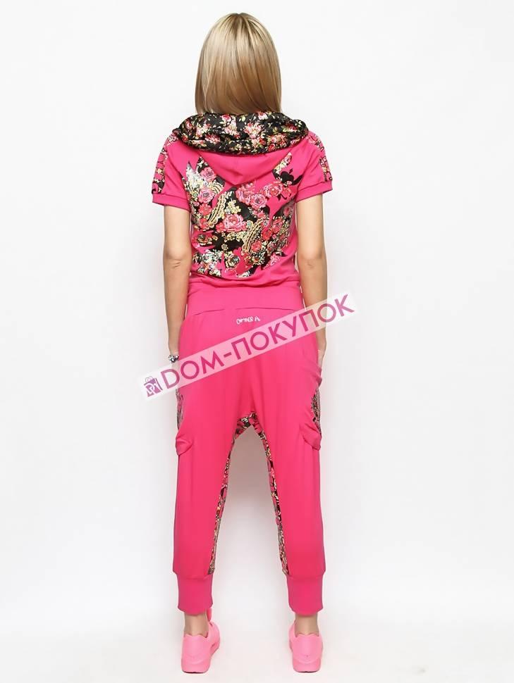 491a1788 Женский спортивный костюм с цветочным принтом AS8-SKSK-2587 - купить ...